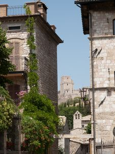 Assisi-Italy Stock Photography