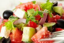 Free Greek Salad Stock Photography - 27298812