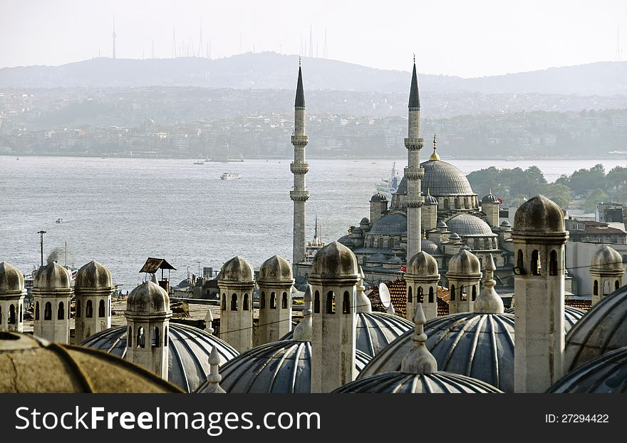 New Mosque un Istanbul
