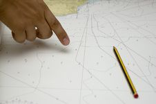 Free Nautical Map Stock Images - 2730304