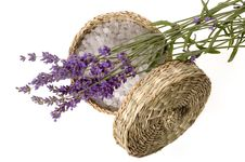 Free Lavender Bath Royalty Free Stock Image - 2731166