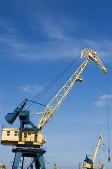 Free Port Crane Stock Image - 2731331