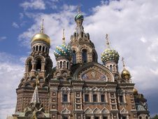 Russian Cathedral Stock Images