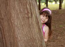 Free Girl Near The Tree Stock Photos - 2731903