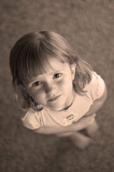 Free Little Girl Portrait Royalty Free Stock Photo - 2733055