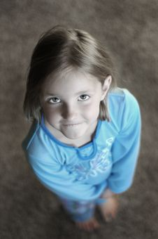 Free Little Girl Portrait Royalty Free Stock Photos - 2733058