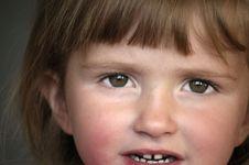 Free Little Girl Portrait Stock Photo - 2733070