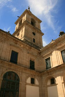 Free Tower In Monastery Of Escorial Royalty Free Stock Image - 2733556