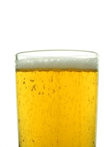 Glass Of Lager Royalty Free Stock Photos