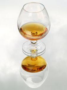 Free Still Life With Brandy Glass Stock Photo - 2734880