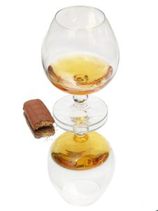 Free Still Life With Brandy Glass Royalty Free Stock Images - 2734969