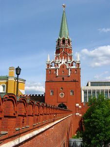 Free Troitskaya A Tower Stock Photos - 2735523