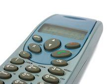 Wireless Telephone, Close-up Royalty Free Stock Image