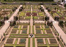 Free French Symmetric Garden Stock Photography - 2735992
