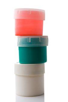 Free Three Plastic Can Stock Photo - 2737590