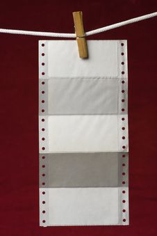 Free Perforation Paper Stock Photos - 2737753