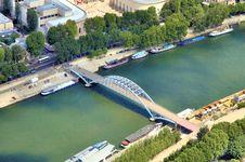Free River Seine Royalty Free Stock Image - 2737976