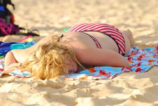 Free Sun Tan Stock Photos - 2739373
