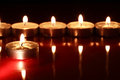Free Candles On Dark Stock Photography - 27301742