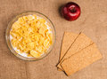 Free Bowl Of Cornflakes With Milk Royalty Free Stock Photo - 27304445