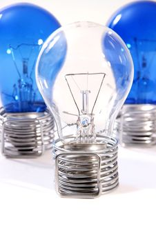 Free Three Bulbs Royalty Free Stock Photos - 27304098