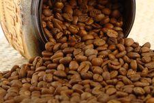 Free Coffee Beans Royalty Free Stock Photo - 27308135