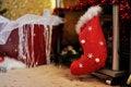 Free Christmas Sock Royalty Free Stock Photos - 27312248