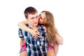 Free Happy Married Couple Royalty Free Stock Photo - 27314755