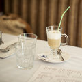 Free Glass Of Cappuccino Stock Photos - 27316773