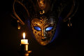 Free Mask And Candle Stock Image - 27319821