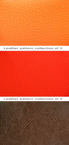 Free Pattern Orange, Red And Brown Leather Royalty Free Stock Photography - 27310047