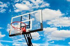 Free Basketball Hoop Backboard Royalty Free Stock Images - 27311529