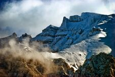 Free Snow Capped Mountain Royalty Free Stock Images - 27319309
