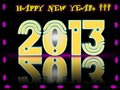 Free Happy New Year 2013 In 3D Stock Photo - 27323430