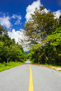 Free Road Along Mountain Stock Photography - 27328382