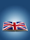 Free UK Flag On Book Stock Photo - 27329450