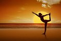 Free A Girl Is Doing Yoga Royalty Free Stock Photos - 27329558