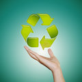 Free RECYCLE  ICON Stock Image - 27329781