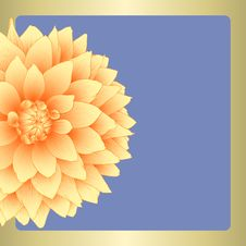 Free Vector Dahlia Flower. Royalty Free Stock Image - 27321276