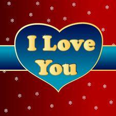 Free I Love You Stock Photo - 27322320