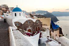 Free Sunrise On The Island Of Santorini Stock Photography - 27322962