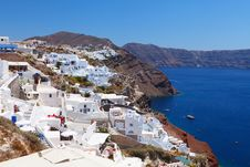 Free Greece, Santorini Views Royalty Free Stock Photo - 27323585