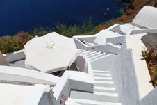 Free Windmill On Santorini Island Royalty Free Stock Photos - 27323988