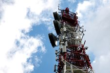 Free Telecommunication, Telecommunications Tower Stock Images - 27324624