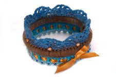 Free Knitted Bracelet Stock Images - 27324984