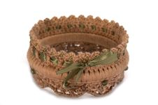 Free Knitted Bracelet Royalty Free Stock Photo - 27325005