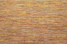 Free Closeup Of Straw Mat Texture Stock Photo - 27325420