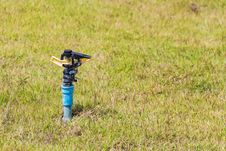 Automatic Sprinkler Head Royalty Free Stock Photo