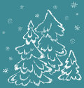 Free Winter Fir-trees Stock Images - 27330414