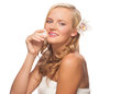 Free Woman Cleaning Her Face Royalty Free Stock Photo - 27335545